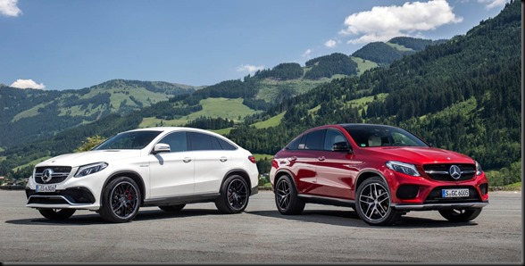 GLE Coupé range gaycarboys