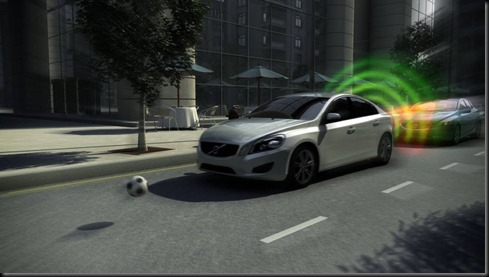 The all new Volvo V40 City Safety Video Still #gaycarboys