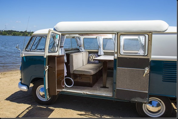 Stepping into the Kombi