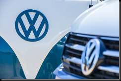 The Volkswagen badge - then and now