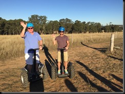Mustang Hunter Valley segway tour group  (2)