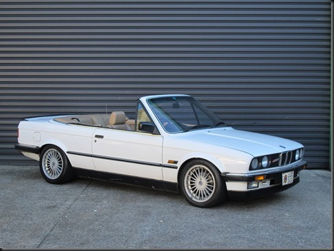 uber-rare 1988 BMW Alpina C2 2.7 convertible with an Alpina C2 drivetrain, suspension and bodywork