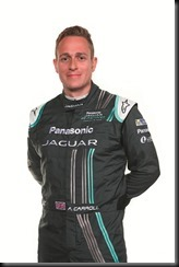 Adam Carroll - Panasonic Jaguar Racing