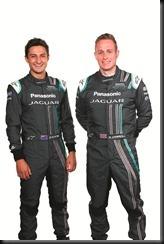 Mitch Evans, Adam Carroll - Panasonic Jaguar Racing
