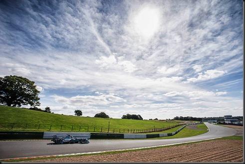 Panasonic Jaguar Racing - I-TYPE Testing