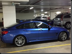BMW 430i GranCoupe at Home