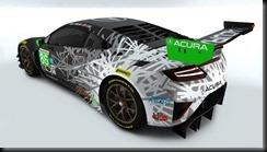 Acura Reveals NSX GT3 Race Liveries; Rolex 24 Driver Pairings Se