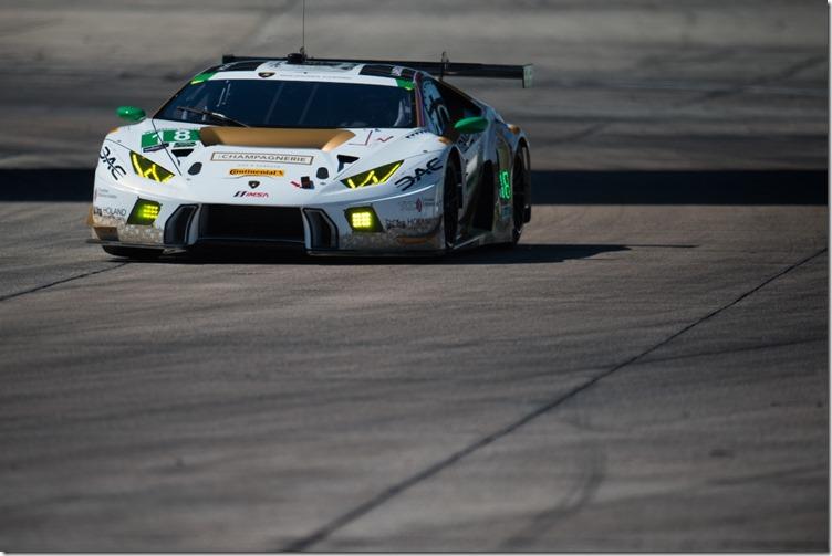 March 16-18, 2017: Mobil 1 12 Hours of Sebring. 18 DAC Motorsports, Massari, Brisebois, Anassis, Claman, Brandon Gdovic