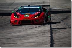 March 16-18, 2017: Mobil 1 12 Hours of Sebring. 48 Paul Miller Racing, Lamborghini Huracan GT3, Bryan Sellers, Madison Snow, Dion von Moltke