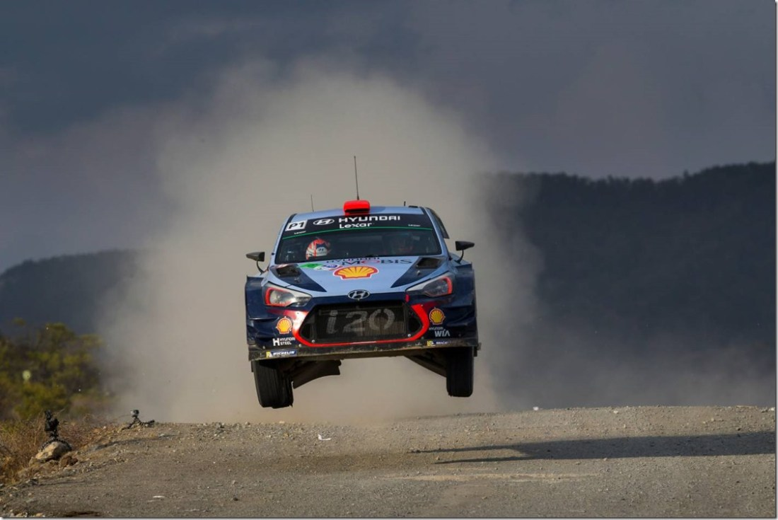 Rally-Mexico - Hyundai -Motorsport -secures -Mexican podium - Power Stage -victory