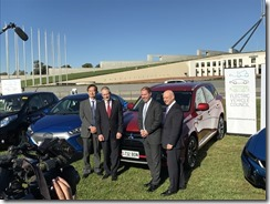 Mitsubishi- CEO- Mutsuhito- Oshikiri-and-AGL- Managing -Director- &-CEO-Andy-Vesey- AGL-vehicle-lobby-group-launch-1 (2)