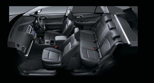 Subaru Outback 2.5i Premium internal