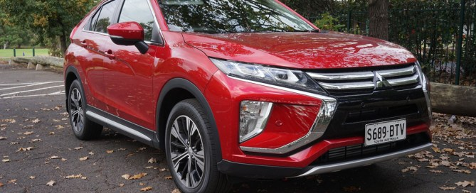 Mitsubishi Eclipse Cross Exceed front