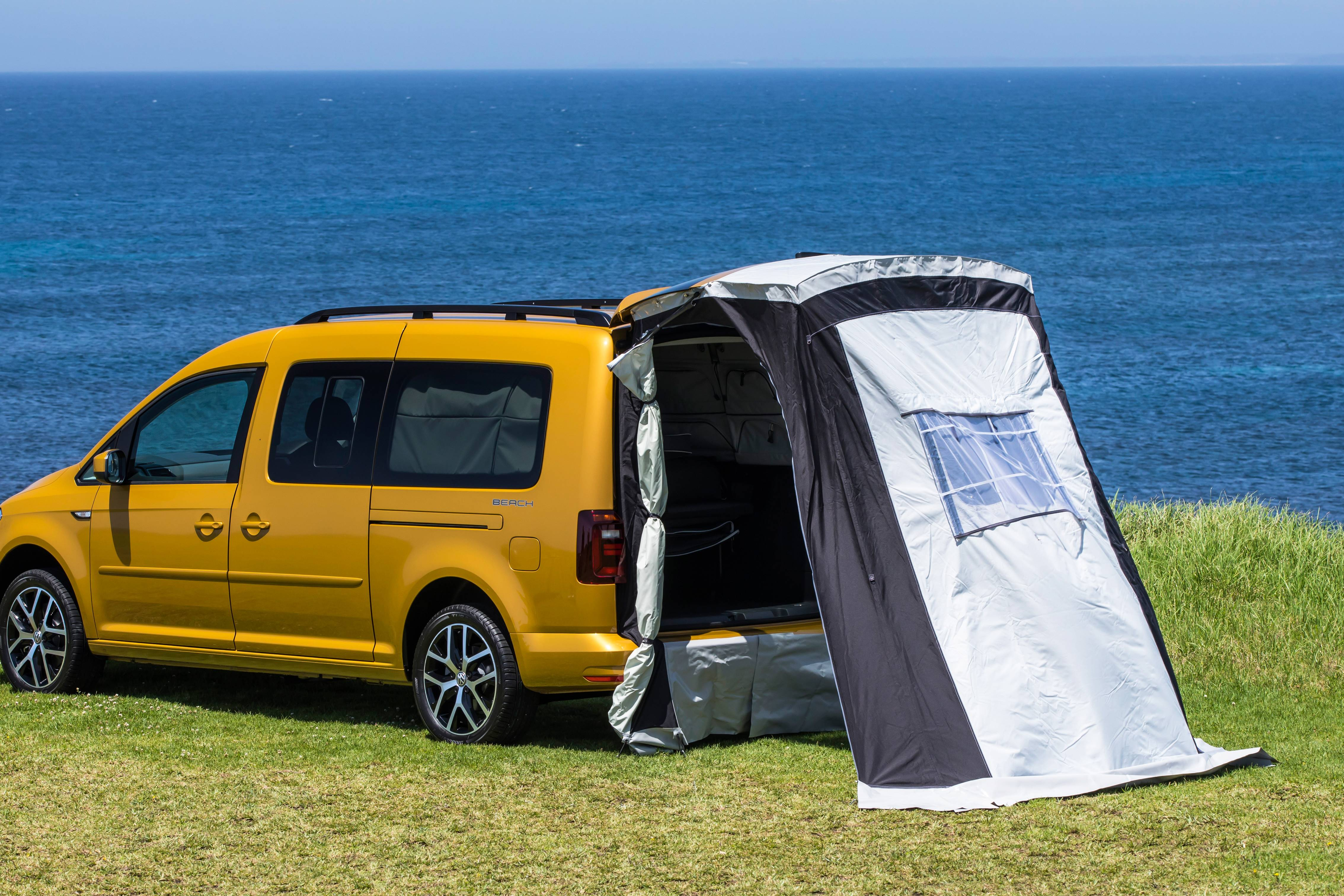 glamping 2019 caddy beach kombi type camper video review gay car boys. Black Bedroom Furniture Sets. Home Design Ideas