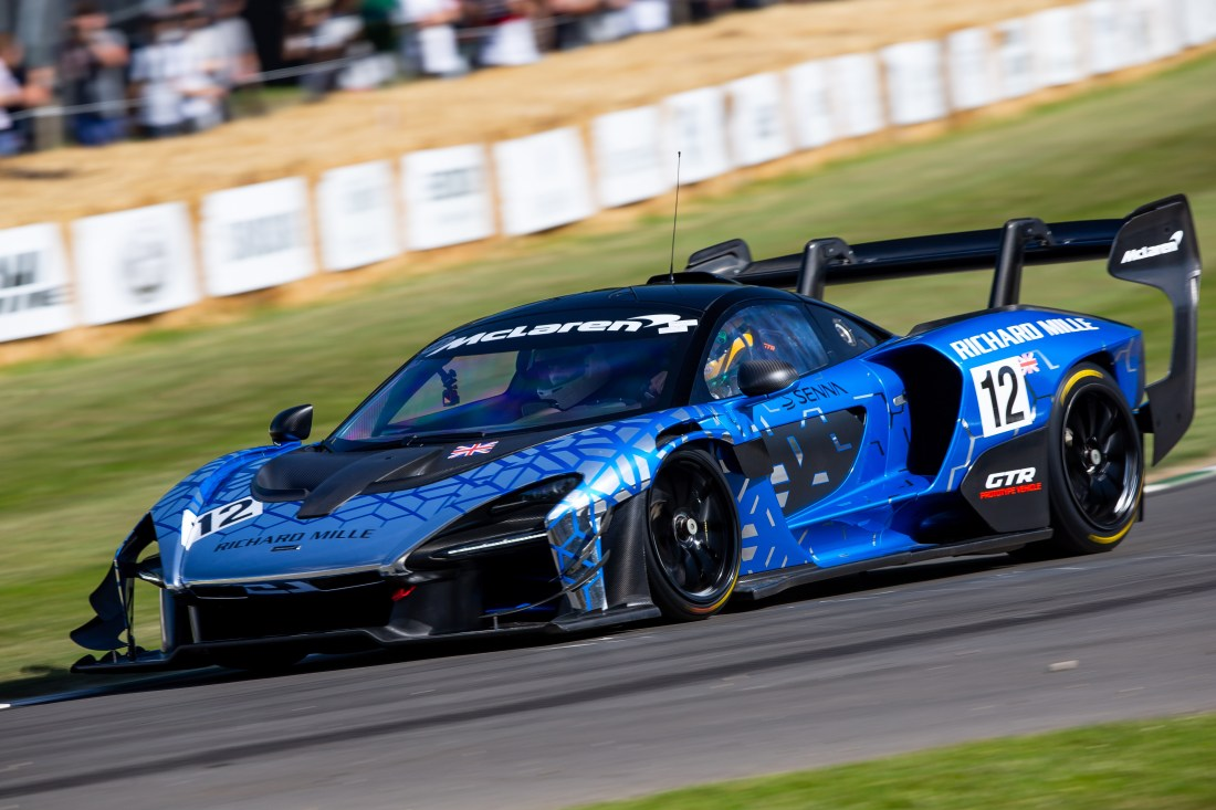 McLaren GT toured the Goodwood