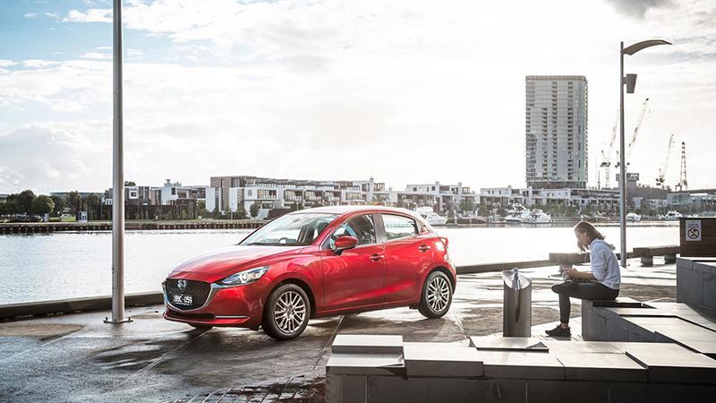 2020 Mazda 2 Updates