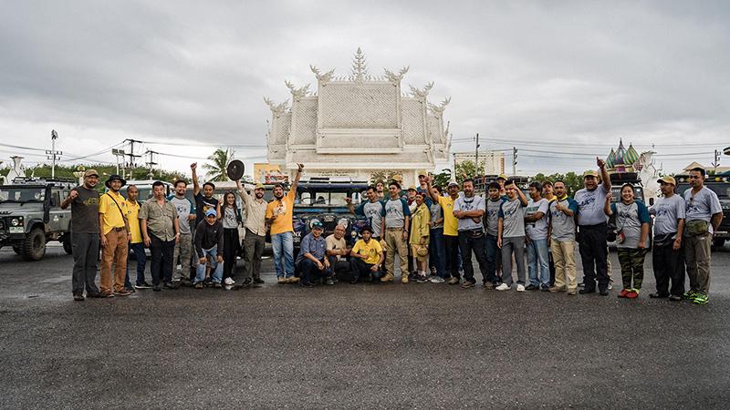 The Last Overland team arrive Thailand