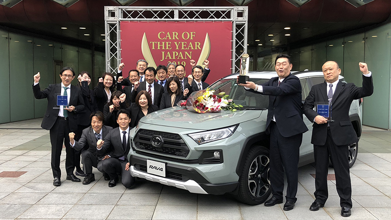 Japan Car of Year 2019 Rav4