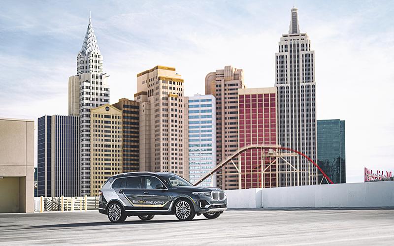 BMW 2020 Consumer Electronics Show Las Vegas