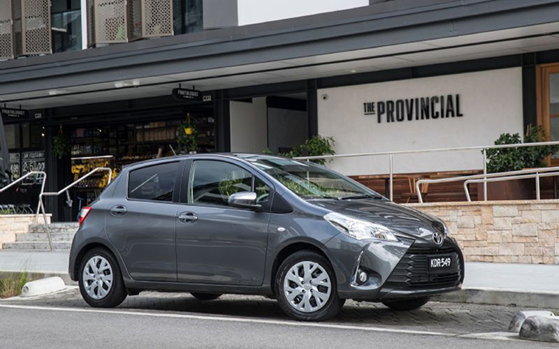 Toyota Yaris Australia Top Selling Light Car Under $25,000