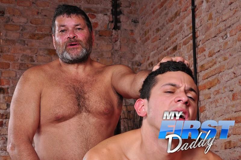 Gay daddy son porn