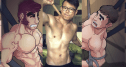Check Out The Art of MonkeyGoGo - Who is Fucking Superman Hottie Himself! (NSFW)