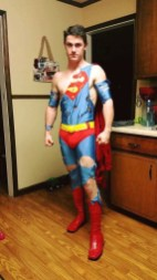 Defeated Superhero 2