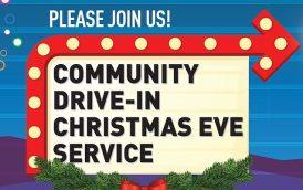 Community Drive-In Christmas Eve Bloom Desert