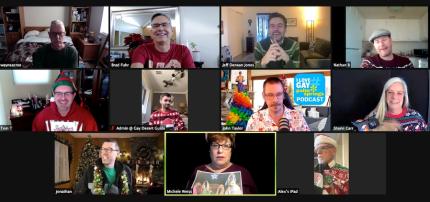 GayDesertGuide.LGBT Holiday Party 2020