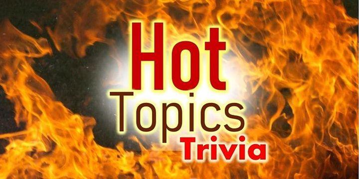 Big Gay Hot Topics Trivia Party