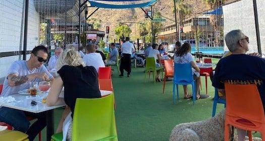 Lulu Palm Springs Arenas Patio
