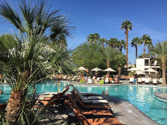 Riviera Palm Springs Pool