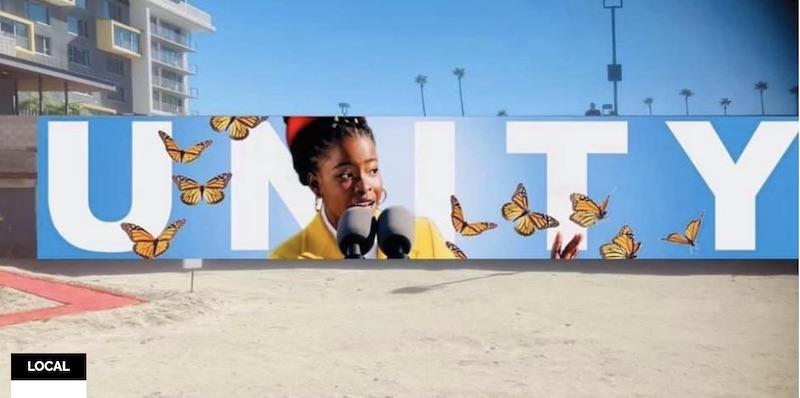 Amanda Gorman Unity Mural