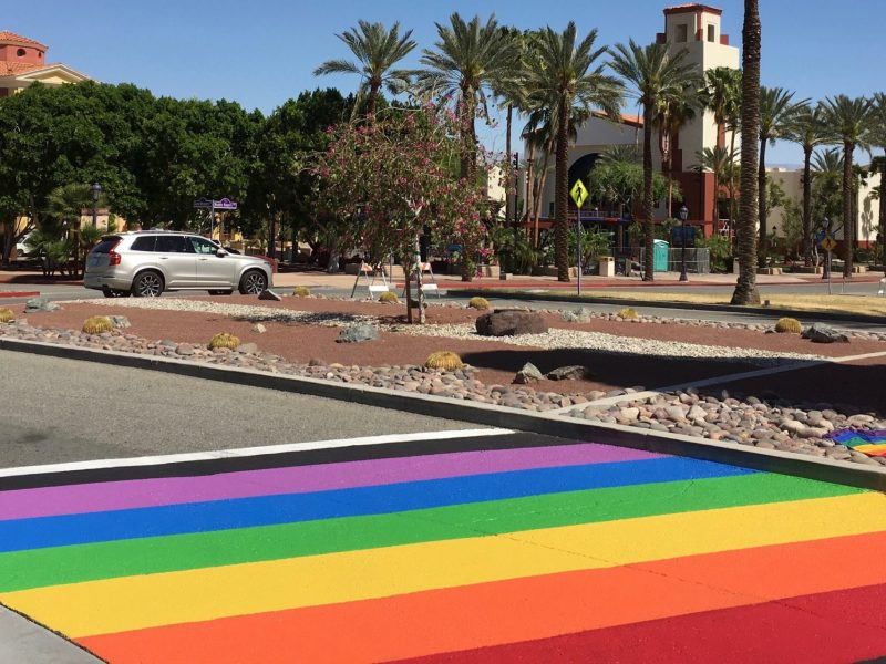 Rainbow Crossing Cathedral City Greogry Pettis