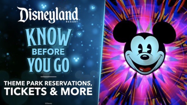 Disneyland Know Before You Go