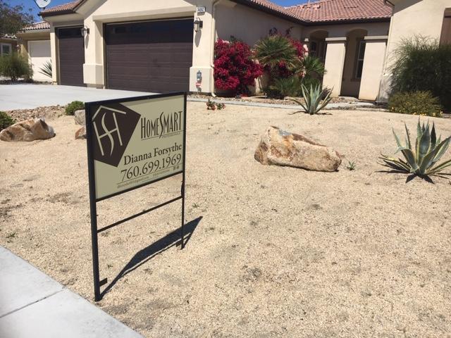Home Smart Real Estate Sign