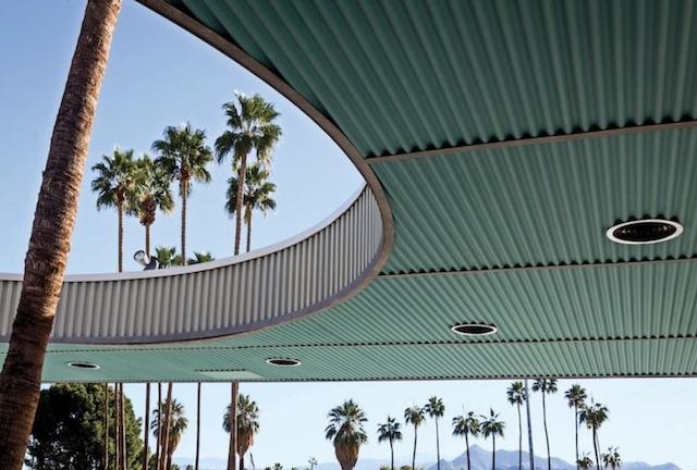Palm Springs City Hall Overhang