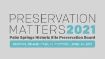 Preservation Matters