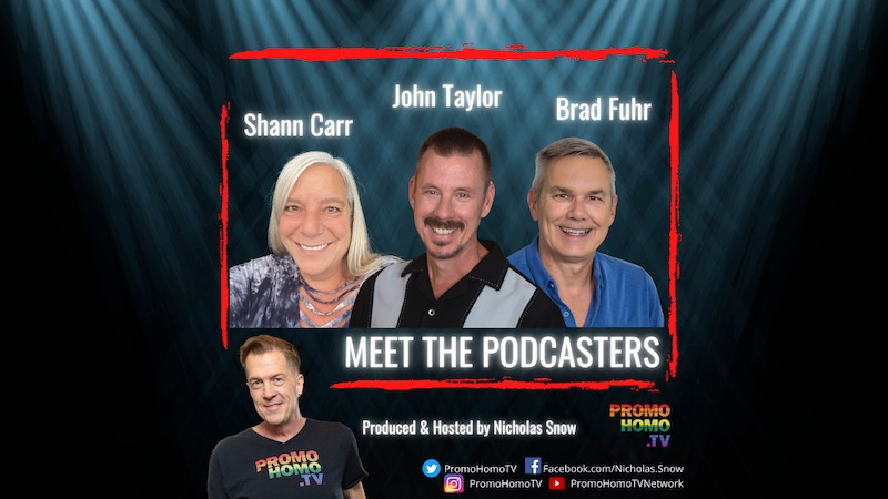 Promo Homo TV Meet The Podcasters