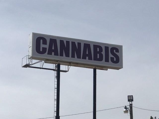 Cannabis Billboard
