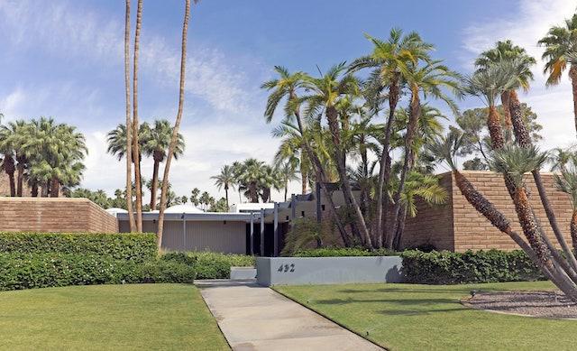 Leo DiCaprio Palm Springs Estate
