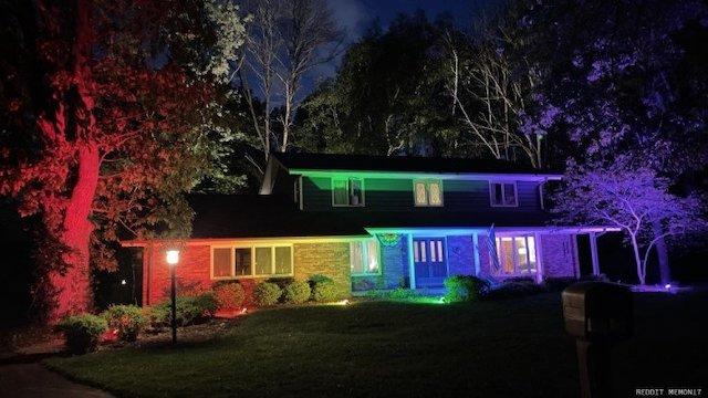 Pride Home Rainbow Lights