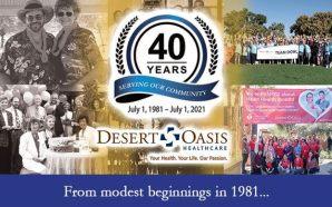 Desert Oasis Healthcare 40 years