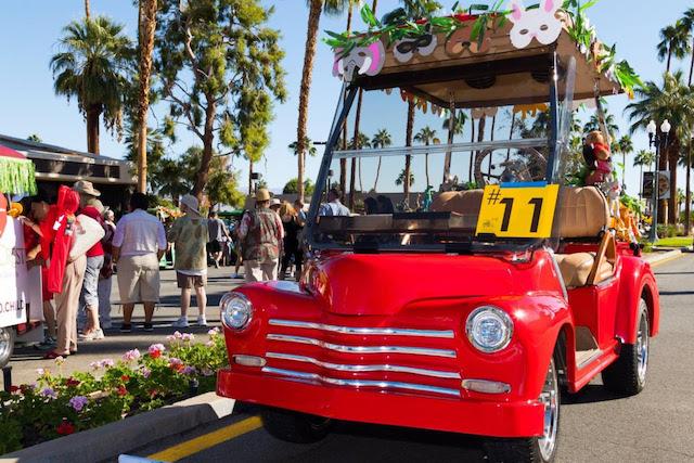 Golf Cart Parade Palm Desert