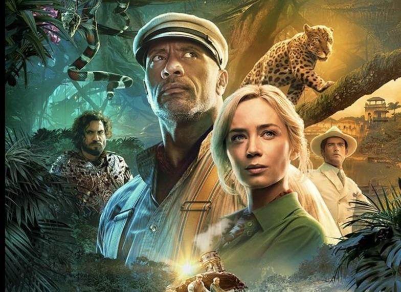 Jungle Cruise 2021 Poster Crop