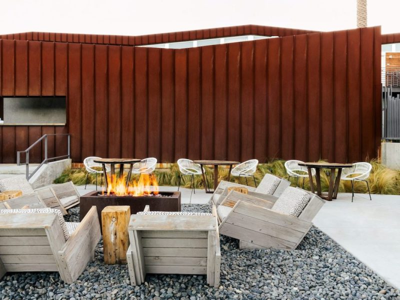 Arrive Hotel Fire Pit
