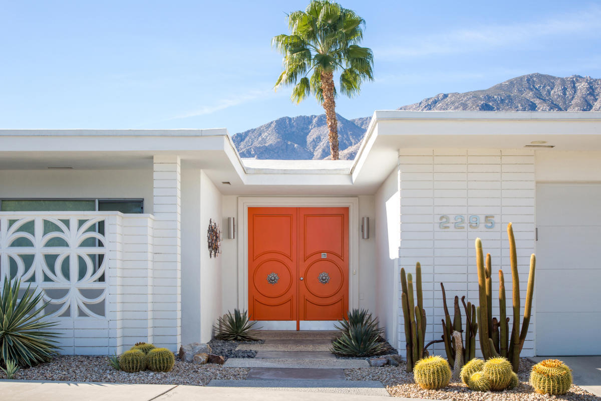 Modernism Week Fall Preview 2021 Orange Doors