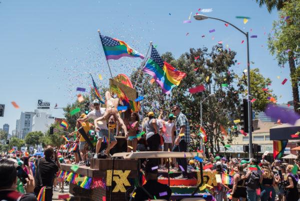 LA Pride Parade 2018 (Photo by Chris Tuite)