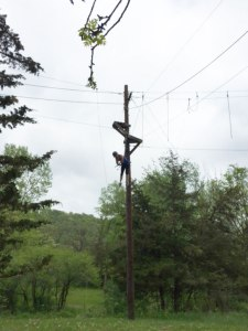High-rope-fall-off