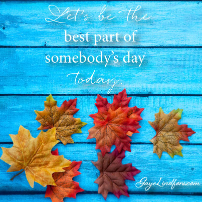 The Best Part of Somebody's Day